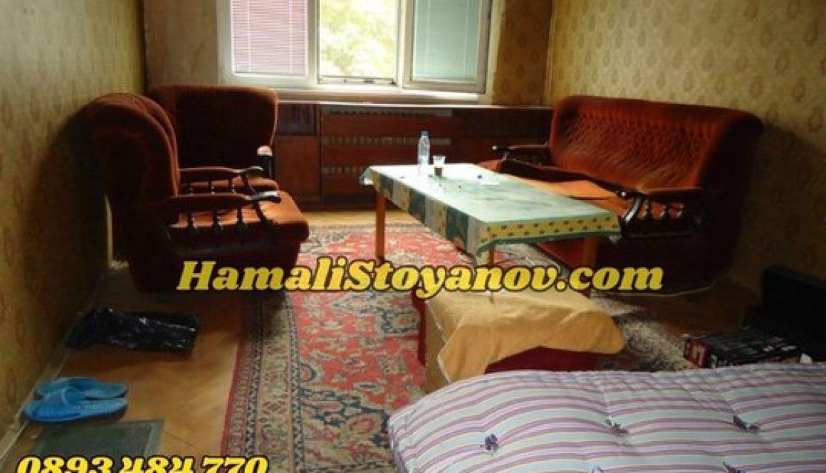 Извозване и изхвърляне на стари мебели в София