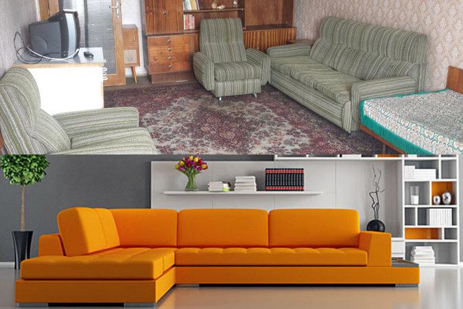 Време е за нови мебели, ами старите?
