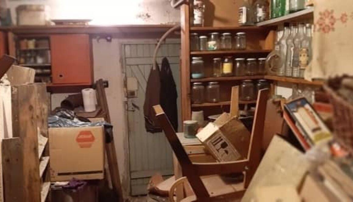 Почистване на мазета-защо мазето ми е пълно с чужди отпадъци, боклуци